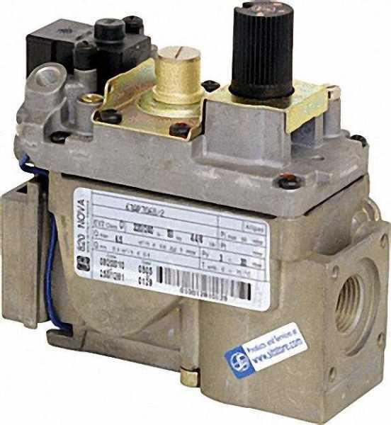 Gas-Kombiventil NOVA 820 220 V/240 V - 50 Hz Referenz-Nr.: 0.820.010