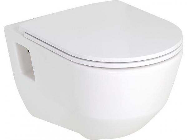 Combi-Pack Laufen PRO, Wandtiefspül-WC spülrandlos, WC-Sitz Softclose, abnehmbar
