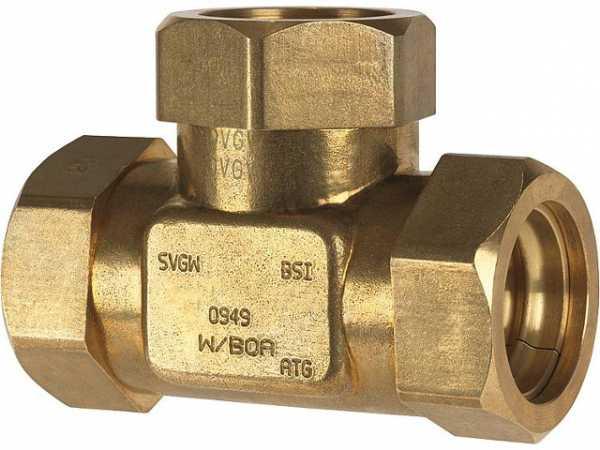 T-Stück für Wellrohr DN 32 (11/4') + DN 20 (3/4') + DN 20 (3/4')