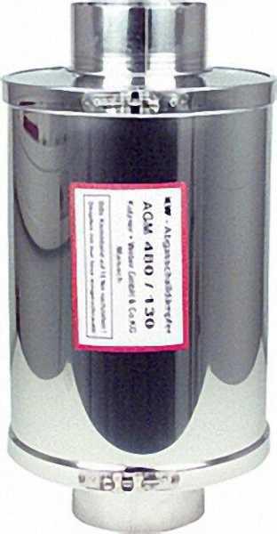 KW KUTZNER + WEBER Abgasschalldämpfer Edelstahl AGM 760 (Nachfolgemodell zu AGM 480) Durchmesser 180
