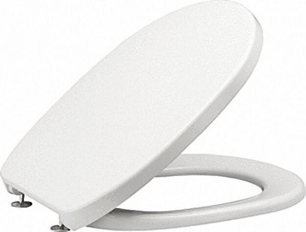 WC Sitz Twist mit Edelstahlscharnier manhattan aus Duroplast