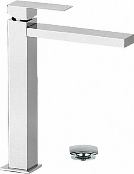 Waschtisch-Einhandbatterie Serie Skyline, Höhe 225mm, mit click-clack