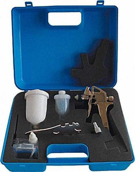 Klein-Lackierpistole minipaint im Kunststoffkoffer