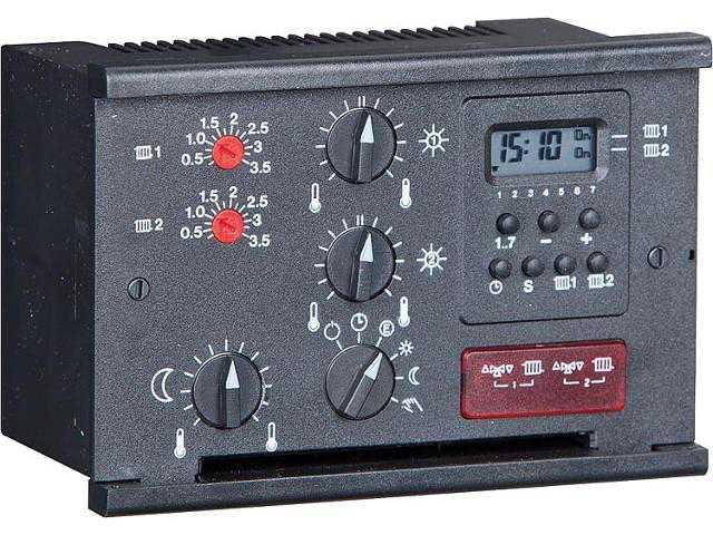 Heizungsregelung Delta 333W mit AF, VF, VF