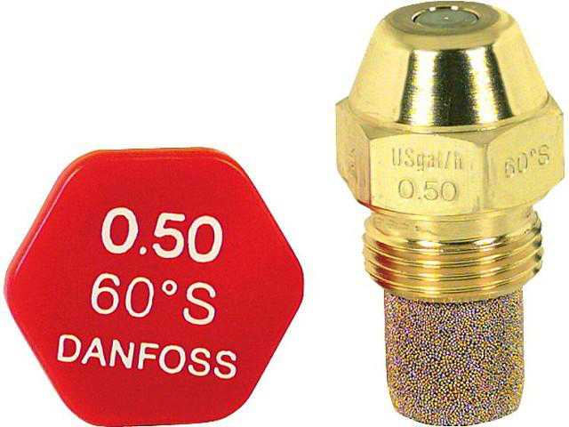 Brennerdüse Danfoss 0,50/60°S 030F6908