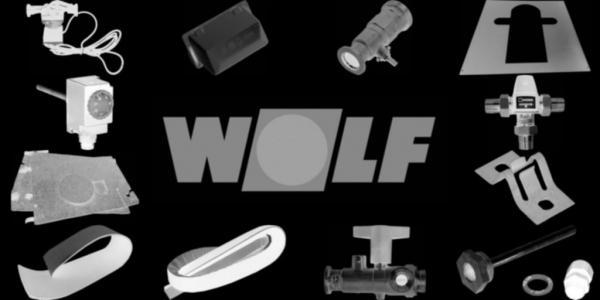 WOLF 8906946 Verkleidung komplett mit Isolierung undDesignelemente, Weiß