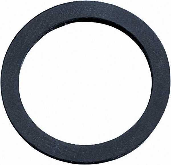 Gummi-Waschmaschinen-Anschluss- dichtung, Größe DN 15 (1/2''), 12x23x3mm, VPE = 100 Stück