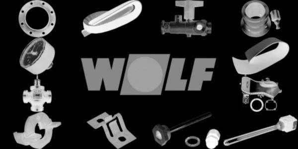 WOLF 1616115 Isolierung für Brennerplatte