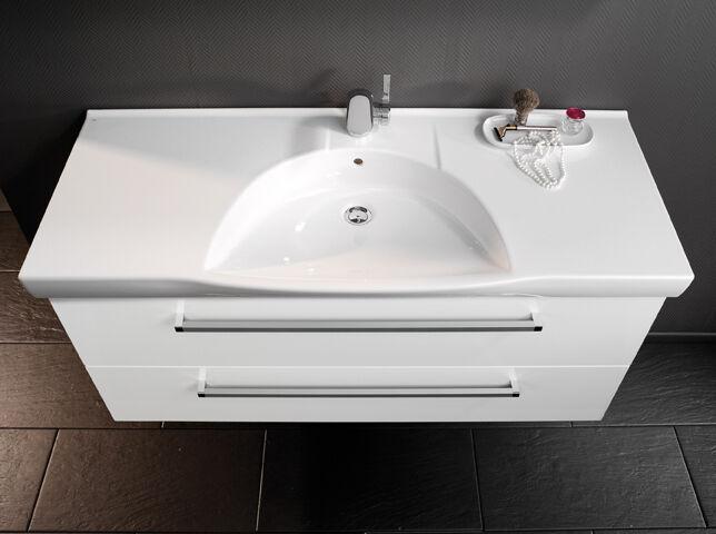 7100312 K3 Keramik Waschtisch 122/7/52 weiß