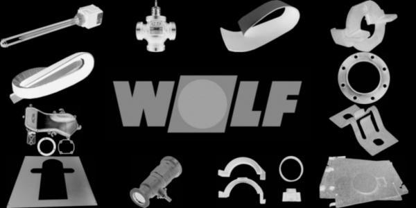 WOLF 1603606 Isolierung Mantel Gussblock