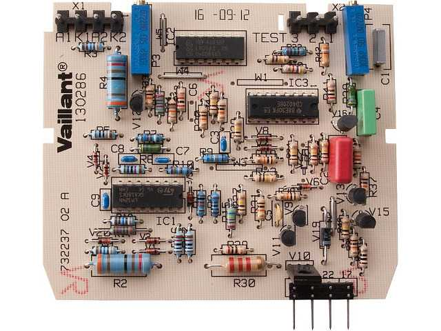 Vaillant-Ersatzteil Leiterplatte VC110, VC-VCW180-280XE (Abga