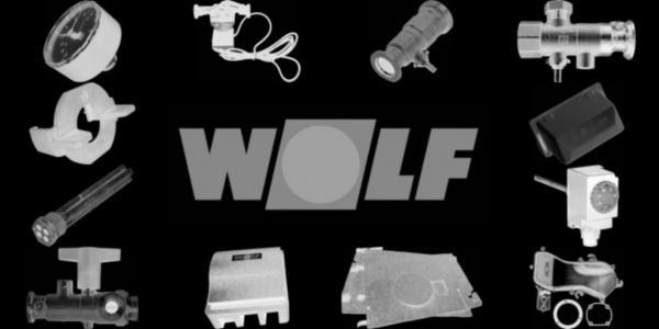 WOLF 2444760 Verkleidung-Mantel, Weiß