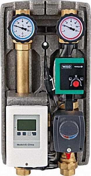 EVENES Heizkreisset Easyflow Clima6 DN25, inklusive Regelung, Mischer mit Motor, Wilo Pico 25/1-6 OE