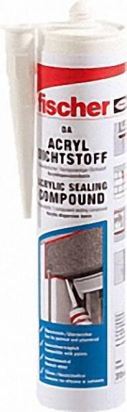 FISCHER Acryldichtstoff DA BR Braun 310ml VPE 1 Stück