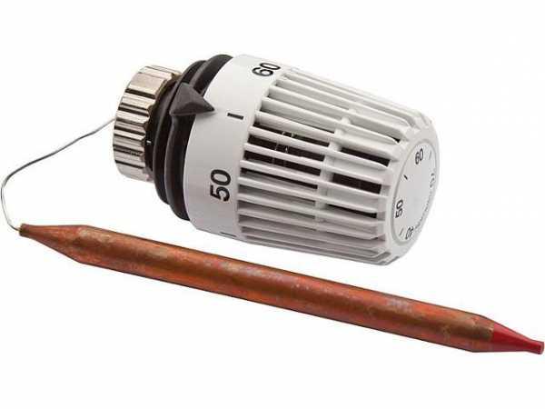 Heimeier 6602-00.500 Thermostatkopf-K zur Boilerregelung 40-70°C ohne Befestigungsmaterial