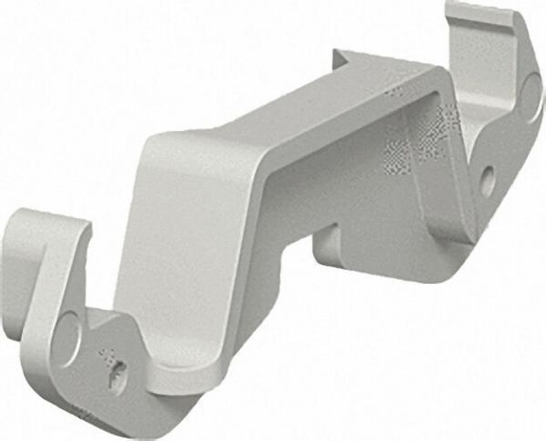 Oberteilklammer steingrau Typ KL80A / VPE 20 Stück