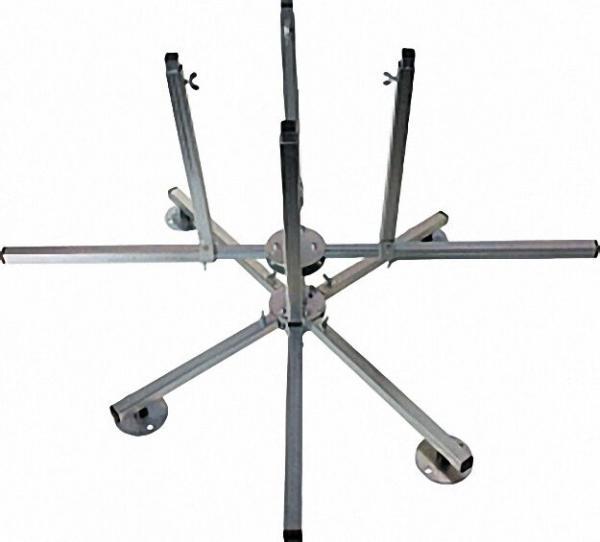 Verlegehaspel 4-armig für Rohrclip bis 600 m