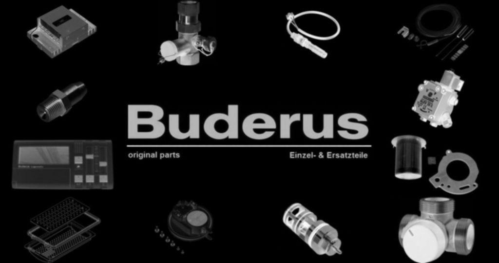 Buderus 5414804 Schliessblech Gr305