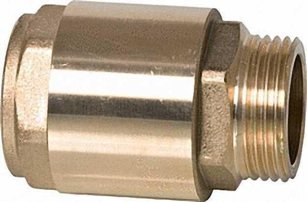 Rückschlagventil IG zu AG 1 1/4'' mit Metalleinsatz und Viton Dichtung