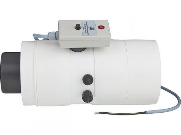 INTERCAL Kesselanschluss DN 80/125 für Ecoheat Öl 15 bis 25KW mit Messöffnung und ATB