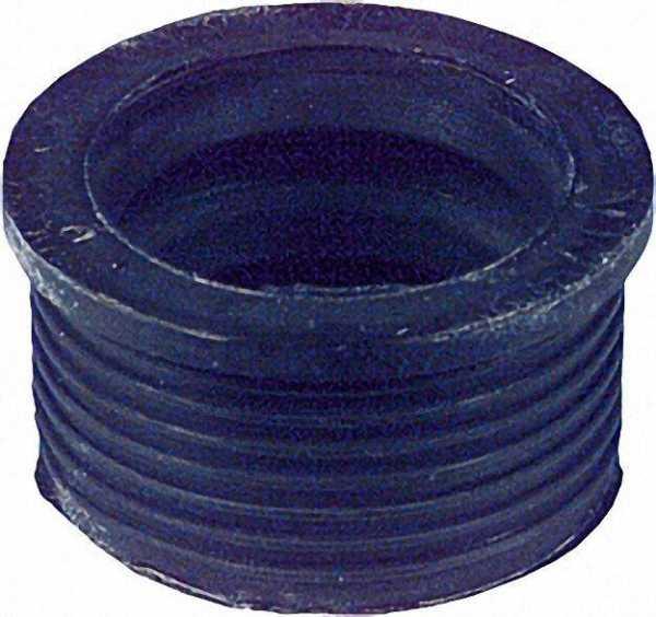 VALSIR Gummi-Manschette schwarz für PVC-Anschlussrohr D 59mm NW 40/60 für 1 1/2''