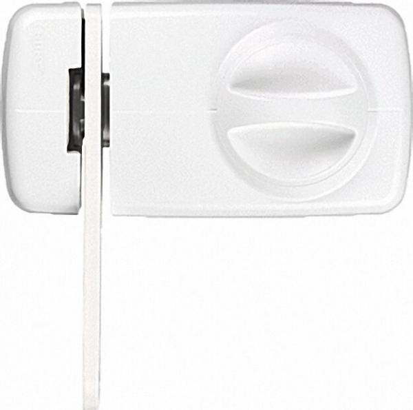ABUS -Tür-Zusatzschloss 7030 W EK weiß