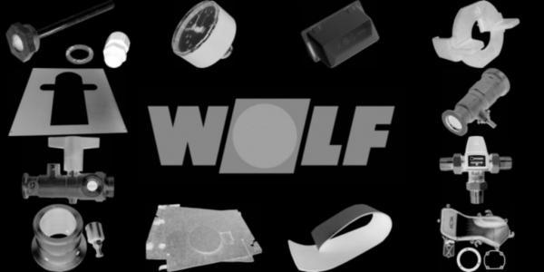 WOLF 8906948 Verkleidung komplett mit Isolierungund Designelemente, Weiß