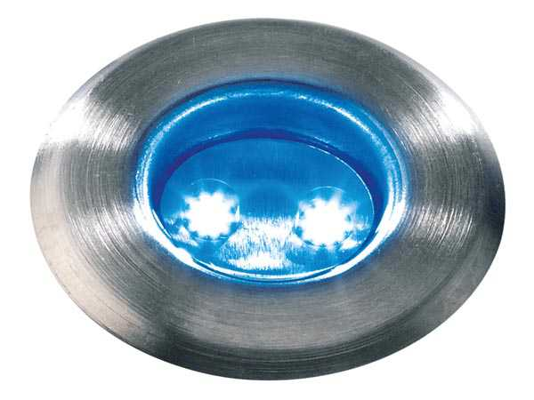 GARDEN LIGHTS ASTRUM BLUE EINBAULEUCHTE 12 V 1 lm 0.5 W 12000 15000 K
