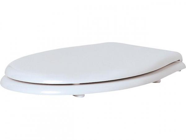 WC-Sitz JUBILÄUM mit Softclose, aus Polyester Weiß