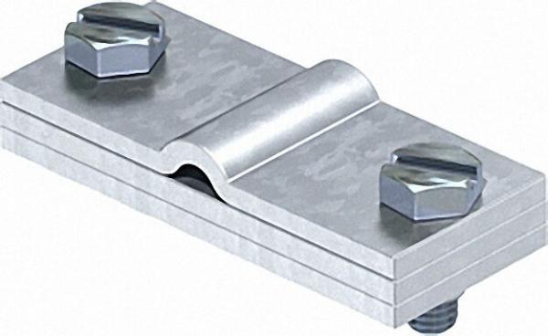Erdanschlussklemme Rundleiter und Flachleiter Typ 937 / 1 Stück