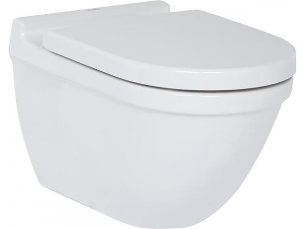 Wand-WC Duravit Starck 3 aus Keramik, weiß, 4,5l Spülung, BxHxT 360x345x540mm