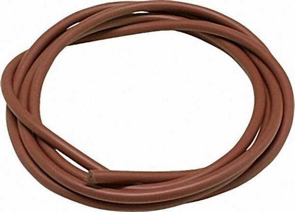 Zubehörteile für Zündtrafos Silicon-Zündkabel rot 7mm dm flexible Qualität 1 Meter