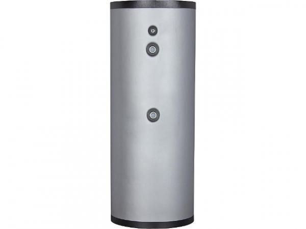 Warmwasser-Speicher, 400 Liter, Edelstahl V4A, mit einem Wärmetauscher und Isolierung