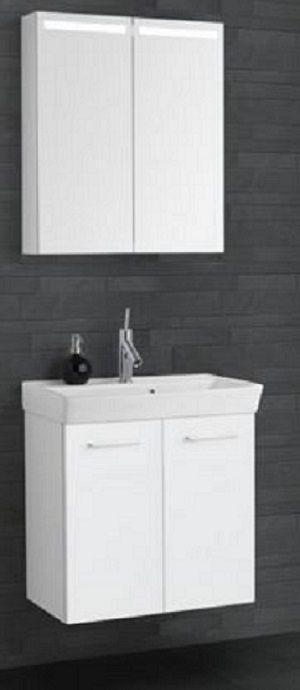 spiegelschrank wei 2 t ren preisvergleich die besten angebote online kaufen. Black Bedroom Furniture Sets. Home Design Ideas