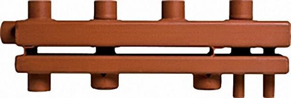 MAGRA Kesselverteiler für 4 Heizgruppen Typ F 122-16 Thermisch getrennt