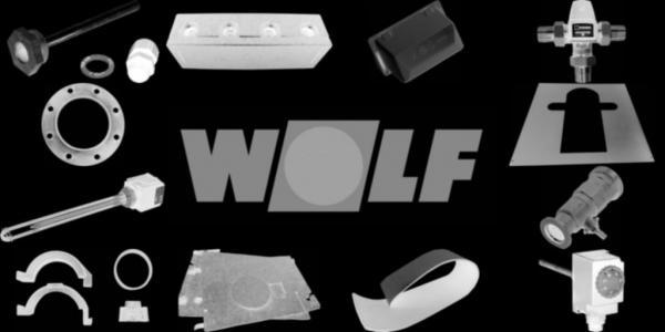 WOLF 8907136 Verkleidung seitlich links, Weiß