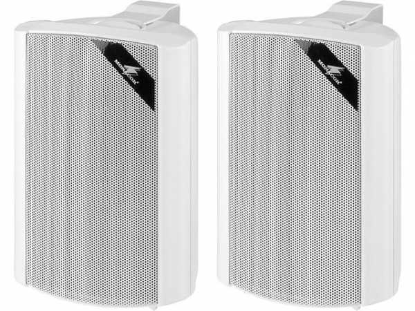 2-Wege Lautsprecherboxset 30W, weiß
