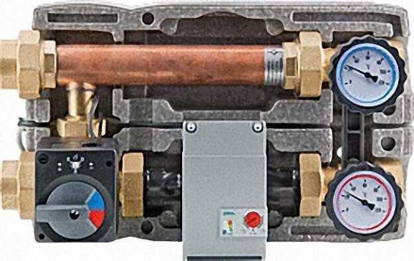 EVENES Festbrennstoff-Ladeset DN 25 (1'') Motorisch, Einstellber,20. . . 80 °C Wilo Yonos Para RS 25