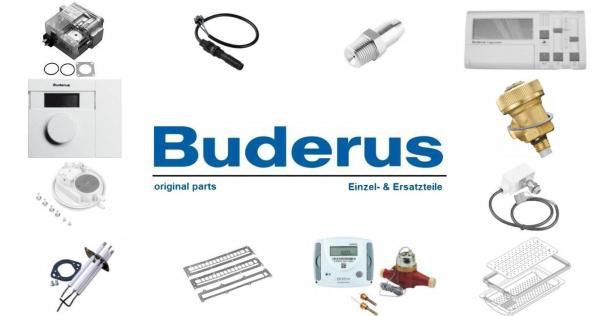 Buderus 8718588654 Anschluss-Set Abgasltg KAS/DK 480