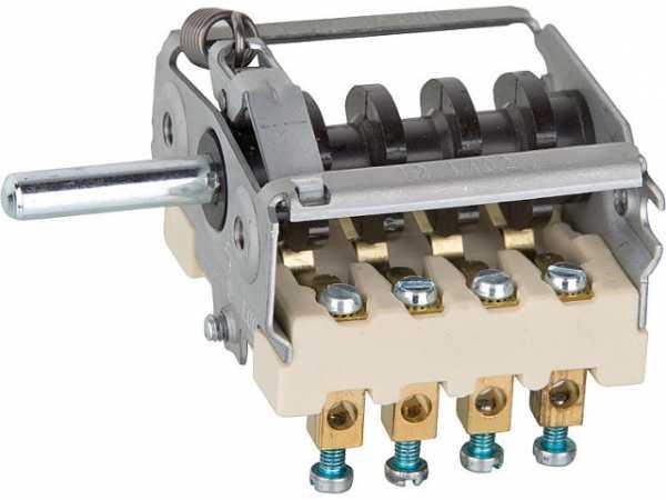 Schalter 16A Ein/Aus 4-bahn Schraub