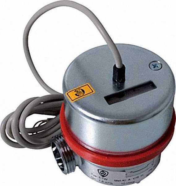ANDRAE AP Wasserzähler Reedkontakt warm Qn 2,5 m3/h=max 5m3/h 130mm bei max 16 bar 1''=DN 20mm