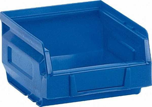 Offener Sichtlagerkasten B 207 x T 344 x H 164mm blau