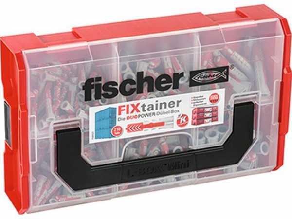 FISCHER 535968 FIXtainer DUOPOWER-Dübel