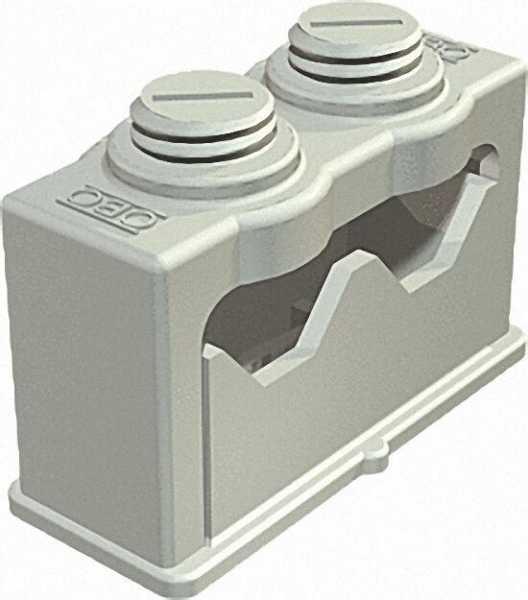 Greif-ISO-Schelle 2-fach 16-24mm, lichtgrau VPE 25 Stück