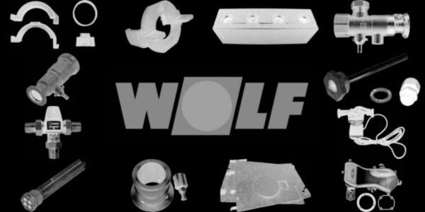 WOLF 1800140 Filtertür links(Scharnier links)