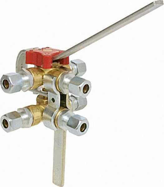 Doppel-Umschaltventile DUV 8mm x 8mm x 8mm