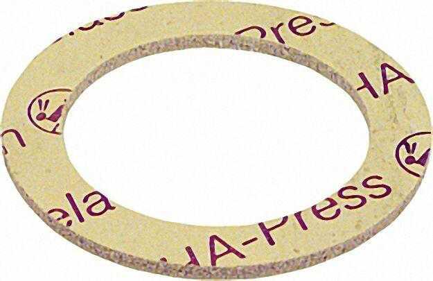 Oha-press Asbestfreie Radiatoren Verschraubungs-Dichtungen 3/8'' 13 x