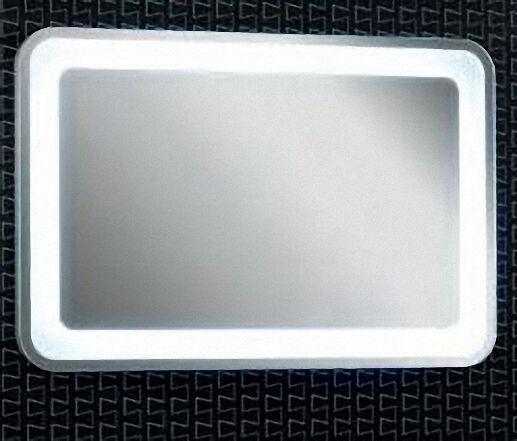 LANZET 7209312 Spiegelelement Rund 90x60 LED Sensorschalter