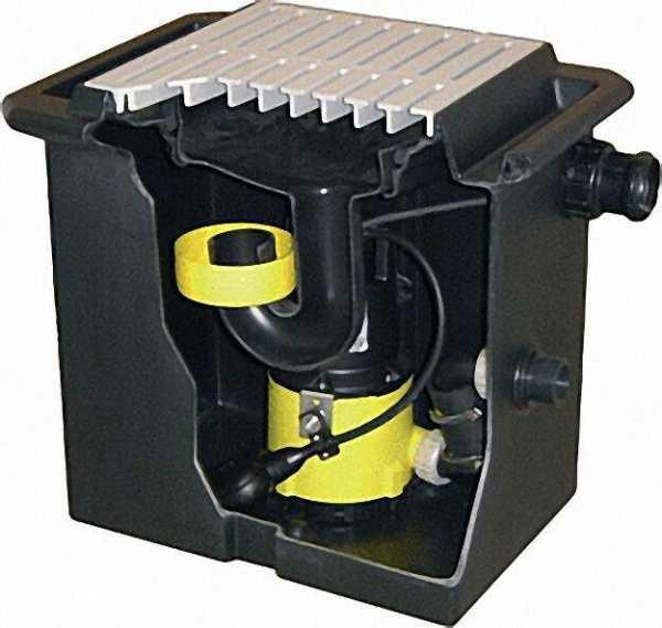 ZEHNDER Schmutzwasser-Hebeanlage UFB 200/35 230 V / 0,65 KW