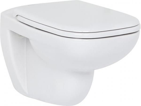 Wand-Tiefspül-WC Duravit D-Code spülrandlos, weiß